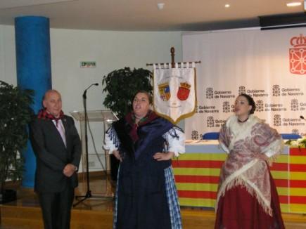 La casa de Aragón en Pamplona celebra San Jorge con Jotas