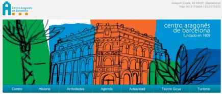 El Centro Aragonés de Barcelona, nueva web y actos para el día de la madre