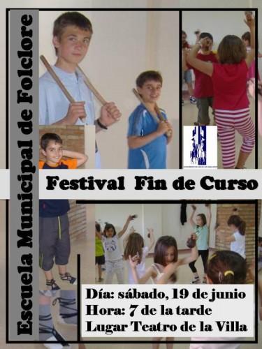 La Escuela Municipal de Jota de Ejea pone fin al curso con un Festival