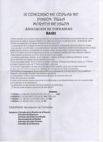 Concurso de coplas de Morata de Jalón