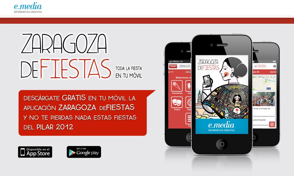 Zaragoza deFiestas es una app pensada para poder consultar de manera rápida e intuitiva la programación de Fiestas del Pilar de Zaragoza en nuestro smartphone y descubrir qué actos se están realizando en cada momento cerca de donde nos encontramos.