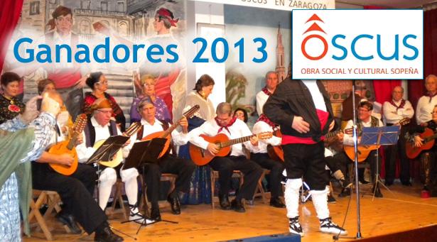 Ganadores del XVIII Certamen de jota aragonesa cantada