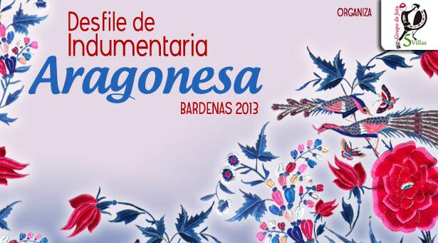 Desfile de Indumentaria aragonesa el 20 de abril en Bardenas