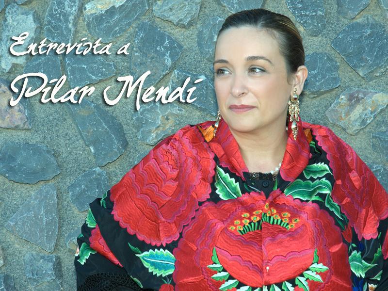Pilar Mendi saca a la venta su primer disco, una joya de su cantar