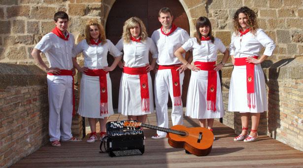 El grupo de jota navarra