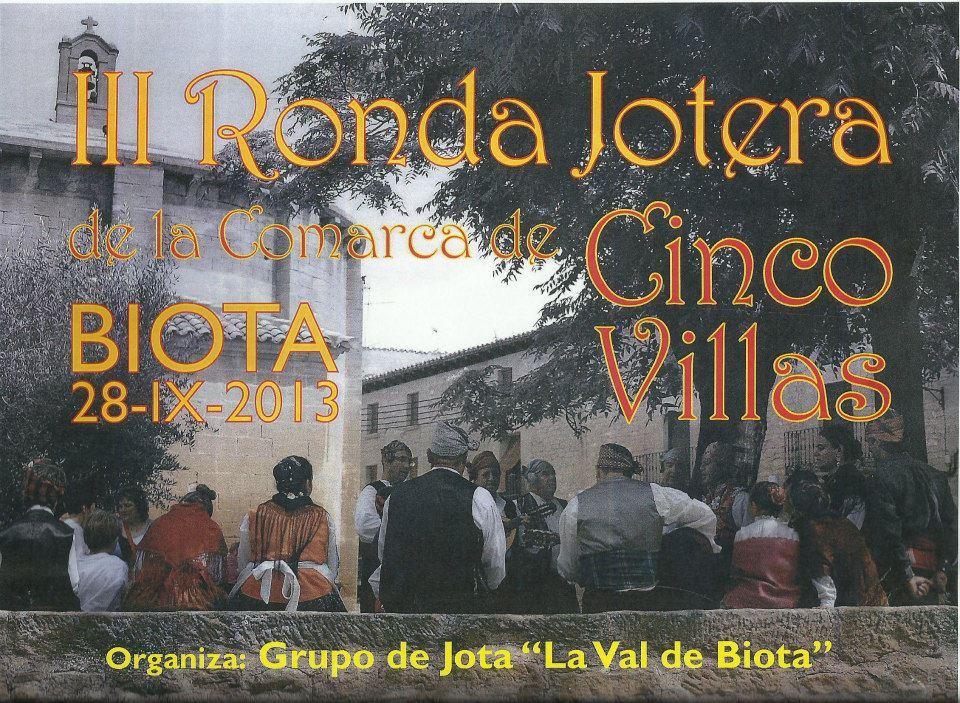 III Ronda Jotera de la comarca de Cinco Villas