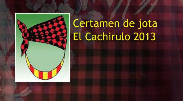 Concurso de jota del cachirulo 2013