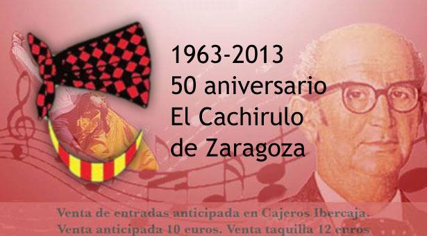 Gala Exaltación Jota 50 Aniversario el Cachirulo Zaragoza, con todos los participantes