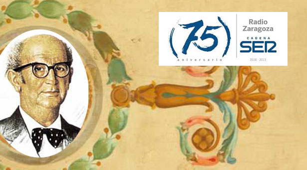 Radio Zaragoza celebra su 75 aniversario con un homenaje al Certamen Demetrio Galán Bergua