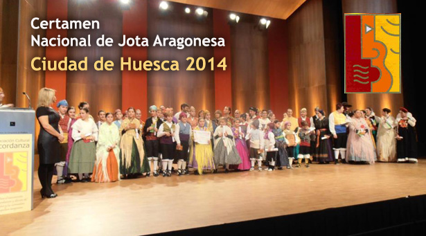Certamen nacional de jota Ciudad de Huesca 2014