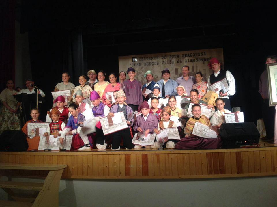 Premiados IX Certamen de Jota Aragonesa