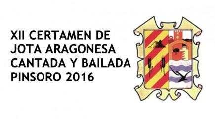 Listados participantes en el concurso de jota de Pinsoro 2016